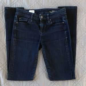 Gap Jeans Womens True Skinny Dark Wash 25 0